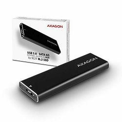 AXAGON EEM2-U3 - USB ladica za M.2 2242/2260/2280 diskove