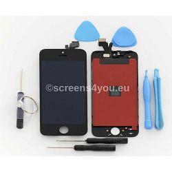 Zamjenski ekran i staklo osjetljivo na dodir za iPhone 5 u crnoj boji