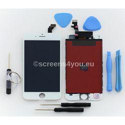 Zamjenski ekran i staklo osjetljivo na dodir za iPhone 6 u bijeloj boji
