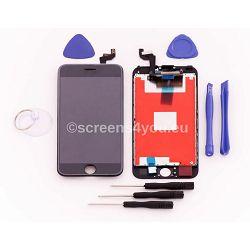 Zamjenski ekran i staklo osjetljivo na dodir za iPhone 6S u crnoj boji
