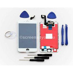 Zamjenski ekran i staklo osjetljivo na dodir za iPhone 6S u bijeloj boji