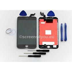 Zamjenski ekran i staklo osjetljivo na dodir za iPhone 6S PLUS u crnoj boji
