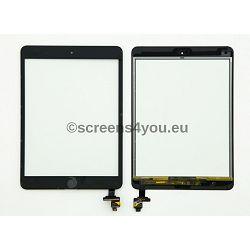 Generičko zamjensko staklo osjetljivo na dodir/touchscreen za iPad Mini 1/2 u crnoj boji