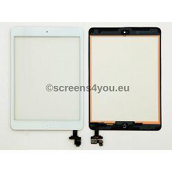 Generičko zamjensko staklo osjetljivo na dodir/touchscreen za iPad Mini 1/2 u bijeloj boji