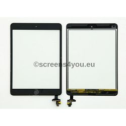 Generičko zamjensko staklo osjetljivo na dodir/touchscreen za iPad Mini 3 u crnoj boji