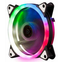 NaviaTec FAN+ Dual Ring, RGB višebojni ventilator