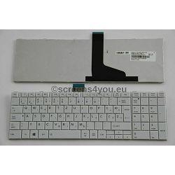 Tipkovnica za laptope Toshiba Satellite C850/C855/C870/C875 bijela