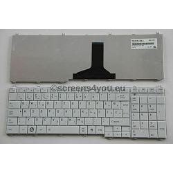 Tipkovnica za laptope Toshiba Satellite C660/C670/L750 bijela