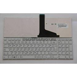 Tipkovnica za laptope Toshiba Satellite L850/L855/L870/L875 bijela