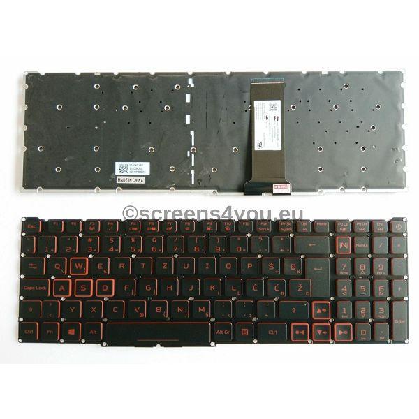 Tipkovnica za laptope Acer Nitro 5 AN515-54/AN515-43/AN517-51/AN715-51