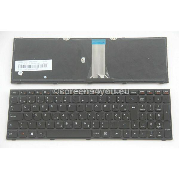 Tipkovnica za laptope Lenovo IdeaPad B50-30/B50-45/B50-70/G50-30/G50-45/G50-70/G50-80/G70/Z50/Z51/Z70/300-15ISK crna